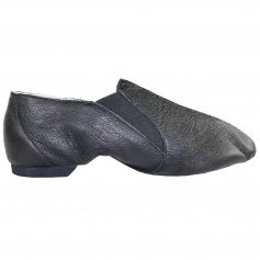 Danzcue Adult Dance Leather Jazz Bootie