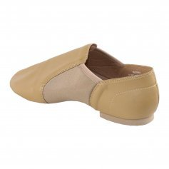 Danzcue Adult Leather Upper Slip-On Jazz Dance Shoes