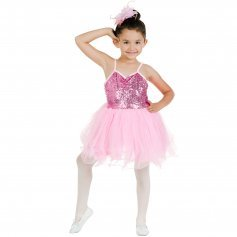 Danzcue Pink Sequin Dress
