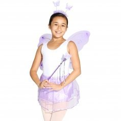 Danzcue Girls 4 Piece Costume Set