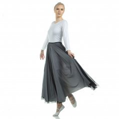 Danzcue Long Full Elastic Chiffon Skirt