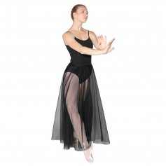 Danzcue Long Full Chiffon Skirt