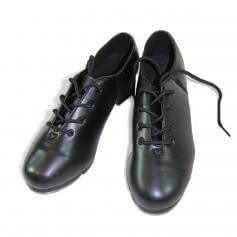 Danzcue Adult Leather Upper Tap Shoes