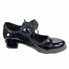 Danzcue Adult Patent Flexible Tap Shoes