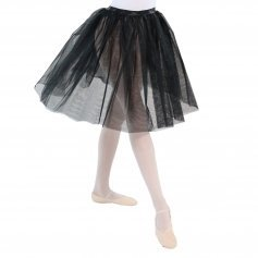 Danzcue Long Two Layers Elastic Waistband Tutu