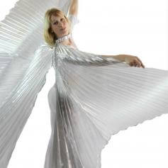 Opening Large Belly Dance Isis Wings [EW003]