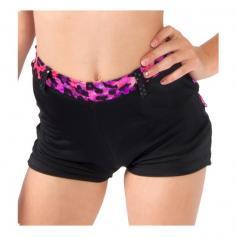 Funky Diva Child Leopard Trim Shorts