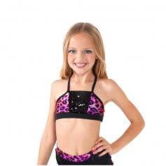 Funky Diva Child Sequin Camisole Bra Top