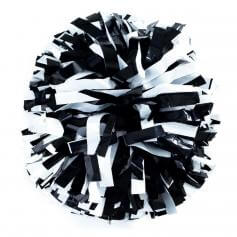 Getz Baton Handle 2 Color Plastic Mix Poms