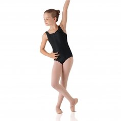 Leo's Child Double Back Strap Tank Leotard