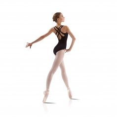 Leo's Ladies Cross Back Tank Leotard