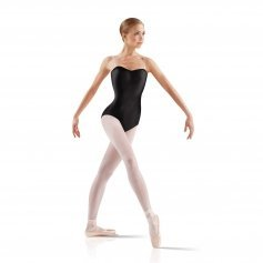 Leo's Ladies Satin Basic Leotard