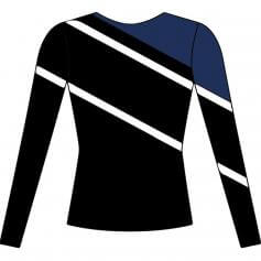 Motionwear Long Sleeve Classic Cheer Stretch Top