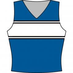 Motionwear Cheer Tank Shell Top