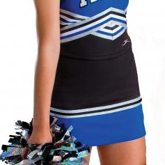 Motionwear Adult Tick-Tock Cheer Skirt
