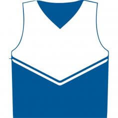 Motionwear Child V-neck Cheer Shell Top