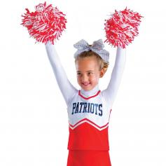 "Motionwear Child ""PATRIOTS"" Cheer Shell"