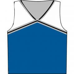 Motionwear Child V-Neck Cheer Racerback Shell