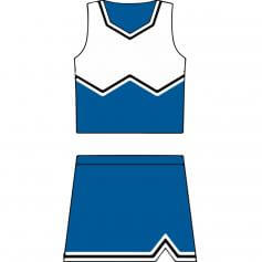 Motionwear Child W Cheer Uniform Set