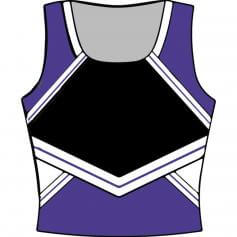 Motionwear Adult U-Neck Cheer Racerback Shell