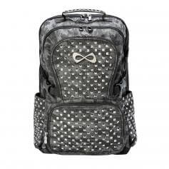 Classic Studded Camo Backpack (Hematite Logo)
