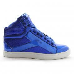 "Pastry Dance Adult ""Pop Tart\"" Glitter Blue Sneaker"