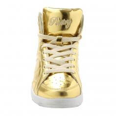 "Pastry Dance Adult ""Sweet Court\"" Gold Sneaker"