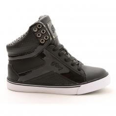 "Pastry Dance Adult ""Pop Tart\"" Grid Black Sneaker"