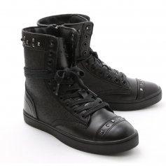 "Pastry Dance Adult ""Military Glitz\"" Black Sneaker Boot"