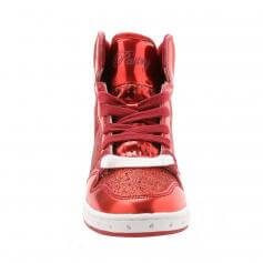 "Pastry Dance Child ""Glam Pie\"" Glitter Red Sneaker"
