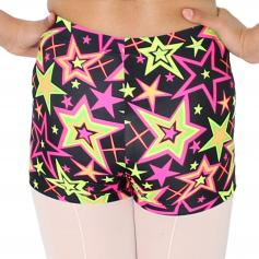 Reflectionz Black Star Shorts