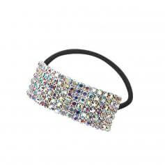 Starlight Crystal AB Cuff Ponytail Binder
