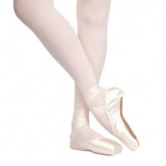 Russian Pointe Rubin U-Cut Drawstring Shank Flexible Medium Pointe Shoe