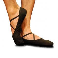 Russian Pointe Apollo Men's Ballet Slippers