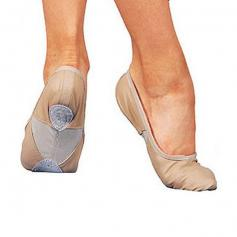 "Sansha 3L Adult ""Silhouette-leather"" Ballet Slipper"