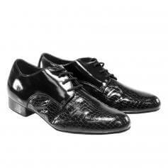"""Sansha Men """"Alvaro"""" Patent Ballroom Shoe"""