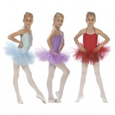 "Sansha Child ""Shirley"" 5 Layers Tulle Tutu"
