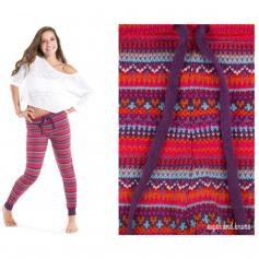 Sugar and Bruno Chalet We Dance Youth Leggings