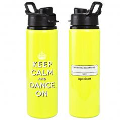 Sugar and Bruno Keltie Keep Calm Water Bottle