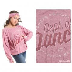 Sugar and Bruno Department of Dance Slouchy Youth Raglan