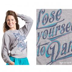 Sugar and Bruno Lose Yourself to Dance Slouchy Raglan