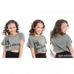 Sugar and Bruno Keltie, Hi I\'m a Dancer Youth Half Top