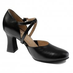 "SoDanca SD-142 Adult Charity 2.5"" Heel Leather Character Shoe"