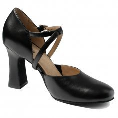 "SoDanca SD-143 Adult Velma 3"" Heel Leather Character Shoe"