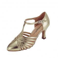 """Stephanie Ladies 2.5"""" Heel T-strap Ballroom Shoes"""