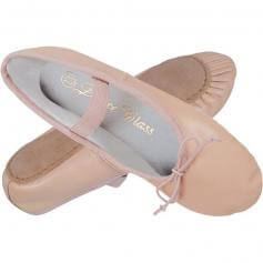 Dance Class® Child Full Sole Leather Ballet Shoe