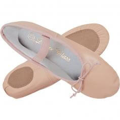 Dance Class® Child Leather Split Sole Ballet Shoe
