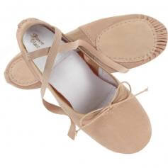 Trimfoot Split-sole Canvas and Spandex Ballet Shoe