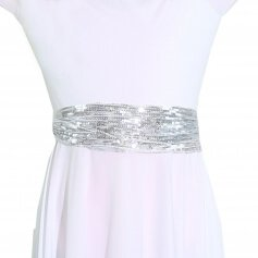 Danzcue Child Sparkling Sequin Waistband