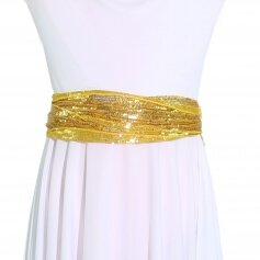 Child Danzcue Sparkling Sequin Waistband